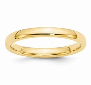 3MM 14K Wedding Band