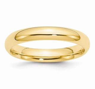 4MM 14K Wedding Band