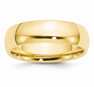 7MM 14K Wedding Band